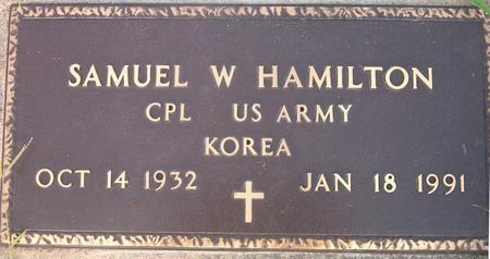 HAMILTON, SAUMEL W. - Louisa County, Iowa | SAUMEL W. HAMILTON