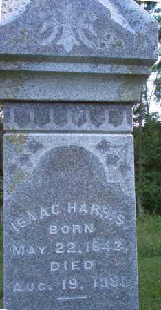 HARRIS, ISAAC - Louisa County, Iowa   ISAAC HARRIS
