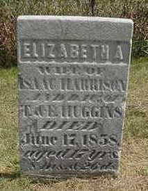 HARRISON, ELIZABETH A. - Louisa County, Iowa | ELIZABETH A. HARRISON