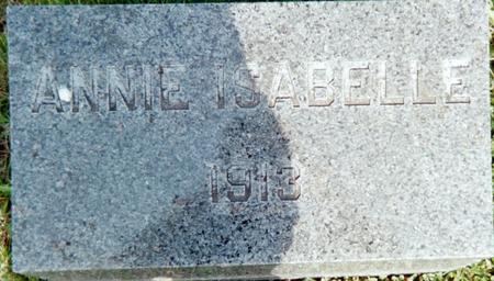 HART, ANNIE ISABELLE - Louisa County, Iowa | ANNIE ISABELLE HART