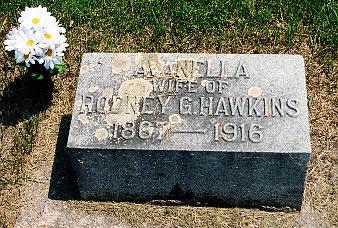 HAWKINS, AVANELLA G. - Louisa County, Iowa | AVANELLA G. HAWKINS