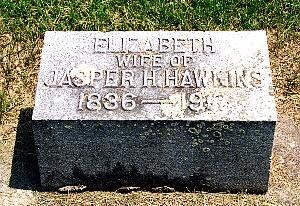 HAWKINS, ELIZABETH - Louisa County, Iowa | ELIZABETH HAWKINS
