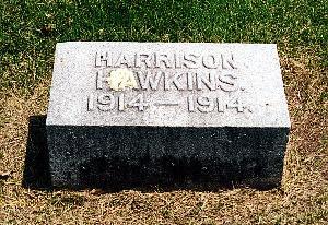 HAWKINS, HARRISON - Louisa County, Iowa   HARRISON HAWKINS
