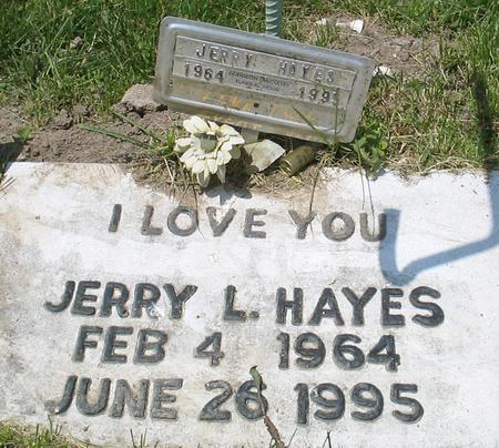 HAYES, JERRY LEE - Louisa County, Iowa | JERRY LEE HAYES