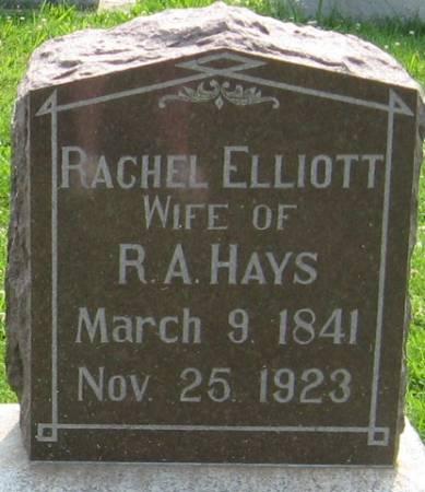ELLIOTT HAYS, RACHEL - Louisa County, Iowa | RACHEL ELLIOTT HAYS