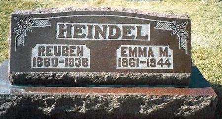HEINDEL, REUBEN & EMMA - Louisa County, Iowa   REUBEN & EMMA HEINDEL