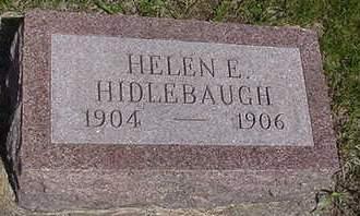 HIDLEBAUGH, HELEN - Louisa County, Iowa   HELEN HIDLEBAUGH