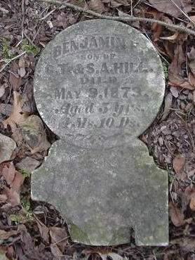 HILL, BENJAMIN F. - Louisa County, Iowa   BENJAMIN F. HILL