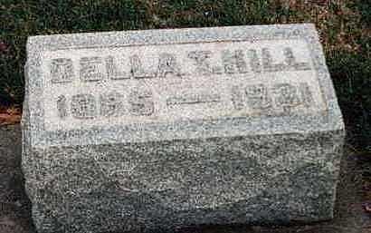 HILL, DELLA T. - Louisa County, Iowa | DELLA T. HILL
