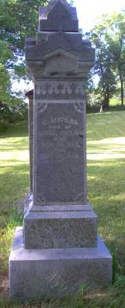 HOLLAND, C. MATILDA - Louisa County, Iowa | C. MATILDA HOLLAND