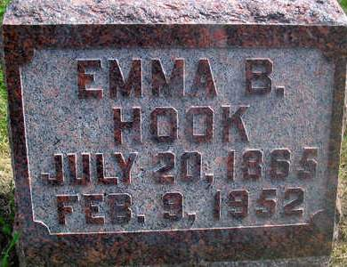 HOOK, EMMA B. - Louisa County, Iowa | EMMA B. HOOK