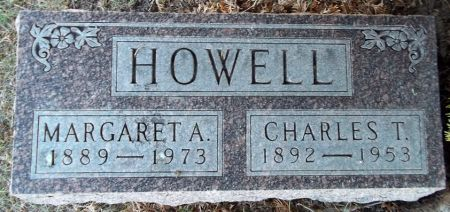 HOWELL, MARGARET A, - Louisa County, Iowa | MARGARET A, HOWELL