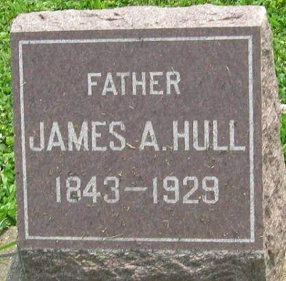 HULL, JAMES A. - Louisa County, Iowa   JAMES A. HULL