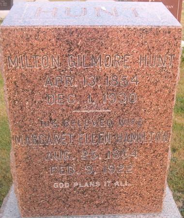 HUNT, MARGARET ELLEN - Louisa County, Iowa | MARGARET ELLEN HUNT