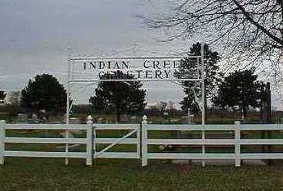 INDIAN CREEK, CEMETERY - Louisa County, Iowa | CEMETERY INDIAN CREEK