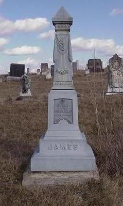 JAMES, NANCY - Louisa County, Iowa | NANCY JAMES