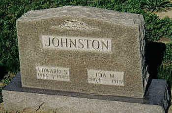 NEWELL JOHNSTON, IDA M. - Louisa County, Iowa | IDA M. NEWELL JOHNSTON