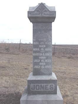 JONES, MARTHA - Louisa County, Iowa | MARTHA JONES