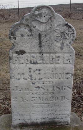JONES, FLORENCE - Louisa County, Iowa | FLORENCE JONES