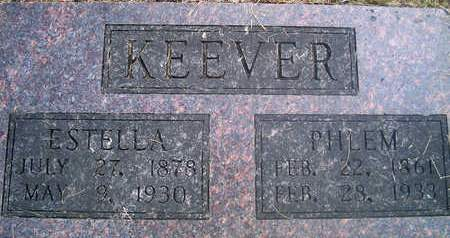 KEEVER, PHLEM - Louisa County, Iowa | PHLEM KEEVER