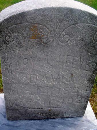 KEEVER DAVIS, MARY A. - Louisa County, Iowa   MARY A. KEEVER DAVIS