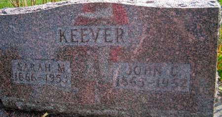 KEEVER, SARAH M. - Louisa County, Iowa | SARAH M. KEEVER