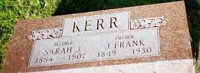 KERR, JOSEPH FRANCES - Louisa County, Iowa | JOSEPH FRANCES KERR