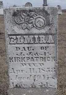 KIRKPATRICK, ELMIRA - Louisa County, Iowa | ELMIRA KIRKPATRICK