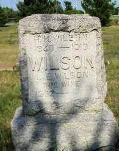 L. E., WILSON - Louisa County, Iowa   WILSON L. E.
