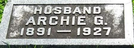 LAIRD, ARCHIE G. - Louisa County, Iowa   ARCHIE G. LAIRD