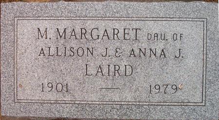 LAIRD, M. MARGARET - Louisa County, Iowa   M. MARGARET LAIRD