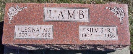 LAMB, SILVIS R. - Louisa County, Iowa   SILVIS R. LAMB