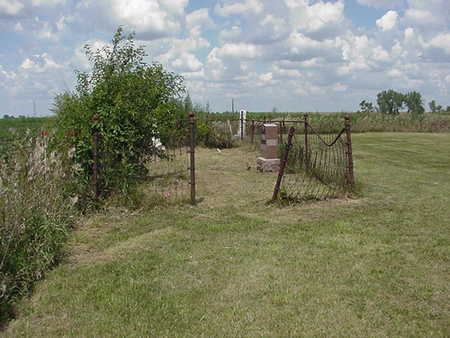 LINN GROVE/CONCORD TWP., CEMETERY - Louisa County, Iowa | CEMETERY LINN GROVE/CONCORD TWP.