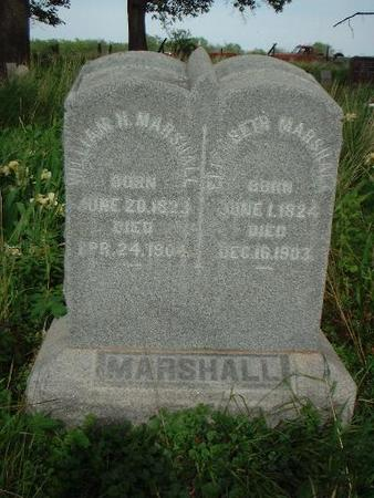 MARSHALL, WILLIAM - Louisa County, Iowa | WILLIAM MARSHALL
