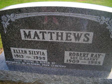 MATTHEWS, ELLEN SILVA - Louisa County, Iowa | ELLEN SILVA MATTHEWS