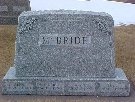 MCBRIDE, MARGARET - Louisa County, Iowa | MARGARET MCBRIDE
