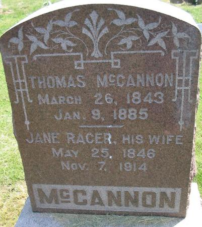 MCCANNON, JANE - Louisa County, Iowa | JANE MCCANNON
