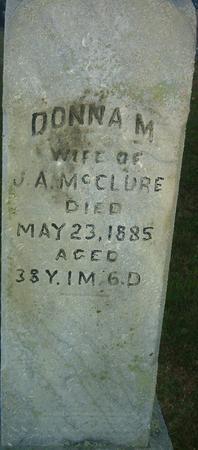 MCCLURE, DONNA M. - Louisa County, Iowa   DONNA M. MCCLURE