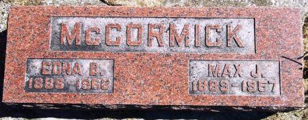 MCCORMICK, EDNA B. - Louisa County, Iowa   EDNA B. MCCORMICK