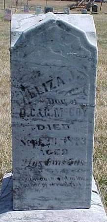 MCCOY, ELIZA J. - Louisa County, Iowa | ELIZA J. MCCOY