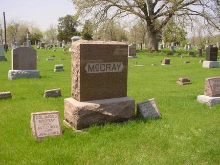 MCCRAY, COLUMBUS - Louisa County, Iowa | COLUMBUS MCCRAY