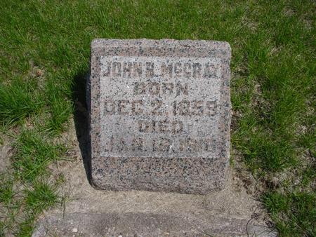 MCCRAY, JOHN BERGAN - Louisa County, Iowa | JOHN BERGAN MCCRAY