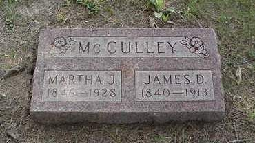 MCCULLEY, MARTHA J. - Louisa County, Iowa | MARTHA J. MCCULLEY