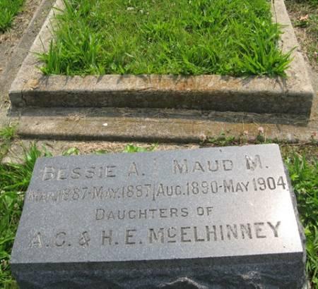 MCELHINNEY, BESSIE A - Louisa County, Iowa | BESSIE A MCELHINNEY