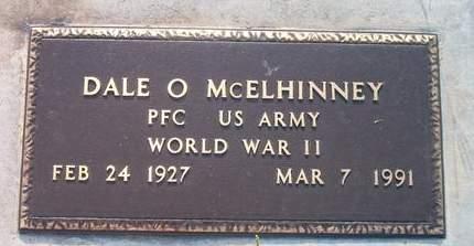 MCELHINNEY, DALE O. - Louisa County, Iowa   DALE O. MCELHINNEY