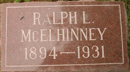 MCELHINNEY, RALPH L. - Louisa County, Iowa   RALPH L. MCELHINNEY