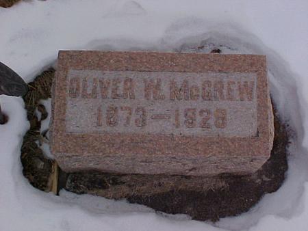 MCGREW, OLIVER W. - Louisa County, Iowa | OLIVER W. MCGREW