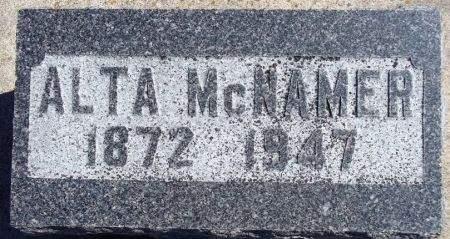 MCNAMER, ALTA - Louisa County, Iowa   ALTA MCNAMER