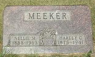 MEEKER, NELLIE M. - Louisa County, Iowa | NELLIE M. MEEKER