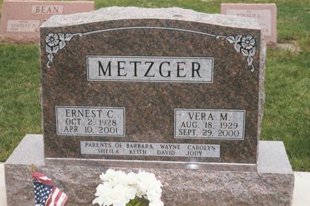 METZGER, VERA M. - Louisa County, Iowa | VERA M. METZGER